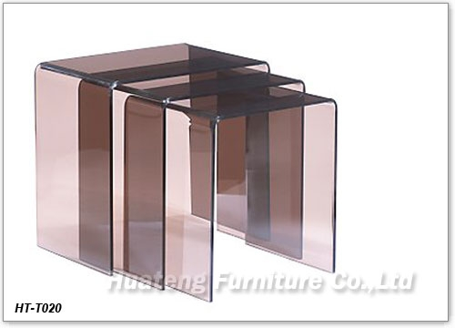 Great Best Stackable Coffee Tables With Regard To Acrylic Nesting Table China Huateng Furniture Factory Produce (Image 15 of 50)