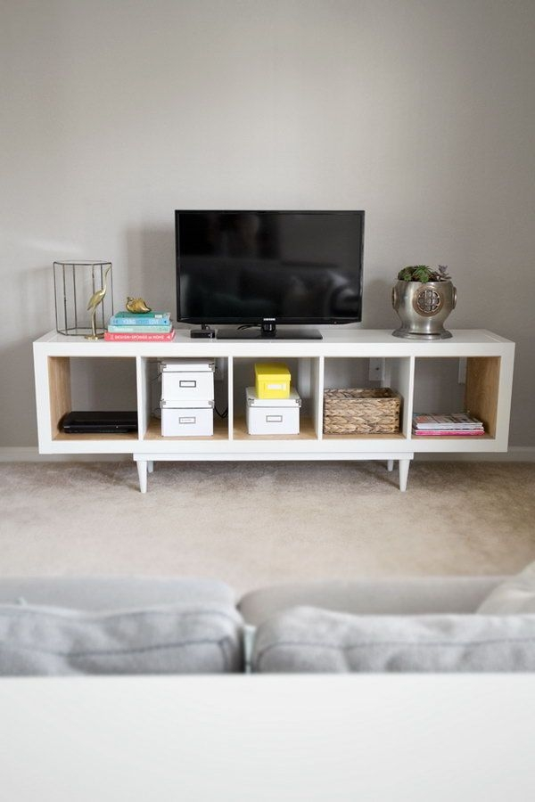 Great Best Telly TV Stands Throughout Best 25 Ikea Hack Tv Stand Ideas On Pinterest Console Ikea (View 22 of 50)