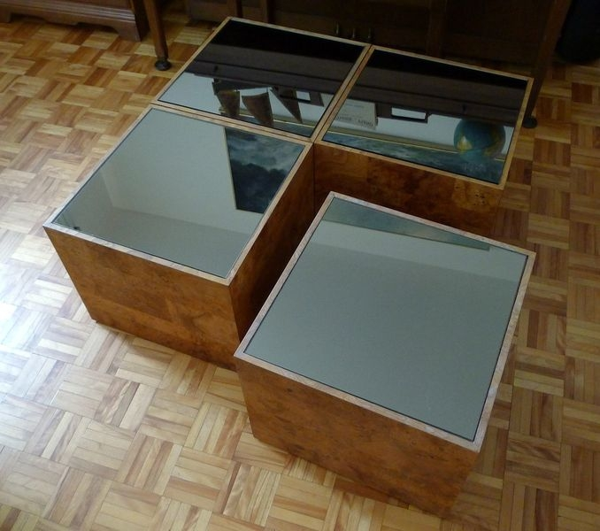Great Best White Cube Coffee Tables Pertaining To Living Room The Most World Menagerie Dimitri Cube Coffee Table (View 32 of 40)