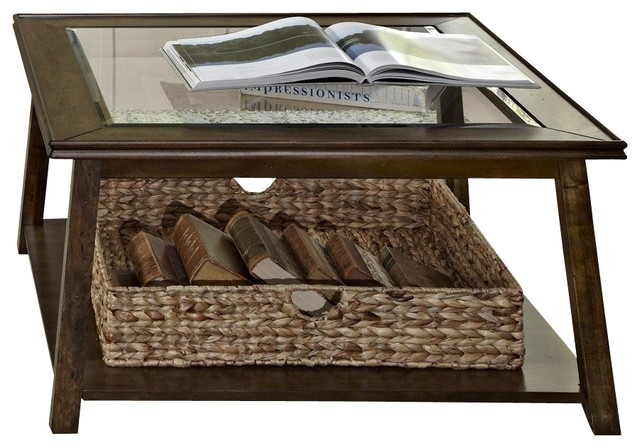 50 Collection of Coffee Tables With Basket Storage