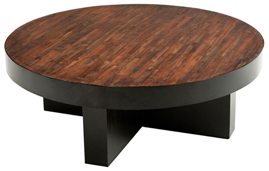 Great Brand New Dark Wood Round Coffee Tables Throughout Coffee Table Breathtaking Wood Round Coffee Table Design Round (Image 20 of 50)