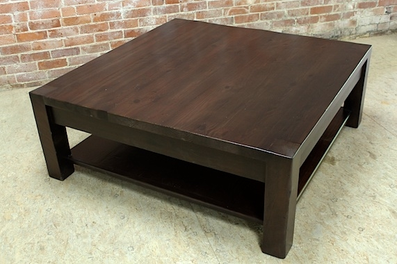 Great Brand New Espresso Coffee Tables Intended For Sturdy Square Espresso Coffee Table (View 6 of 50)