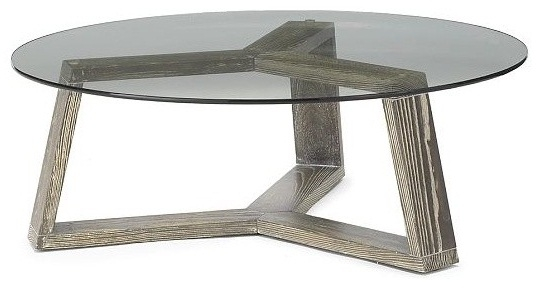Great Brand New Glass Circle Coffee Tables In Contemporary Coffee Table Round Wood (Image 18 of 50)
