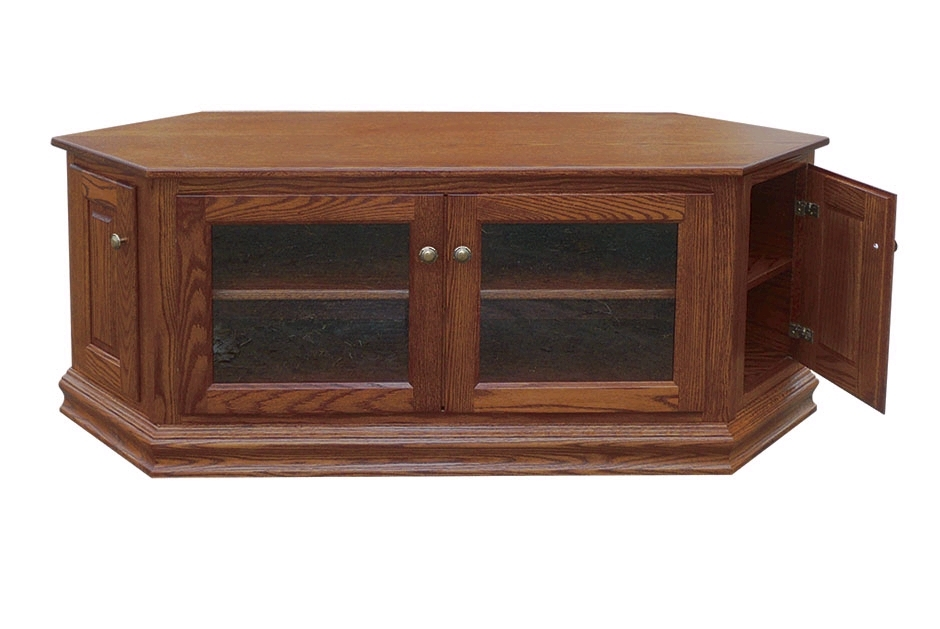 Great Brand New Low Corner TV Stands With Regard To 60 Low Corner Tv Stand Town Country Furniture (Image 22 of 50)