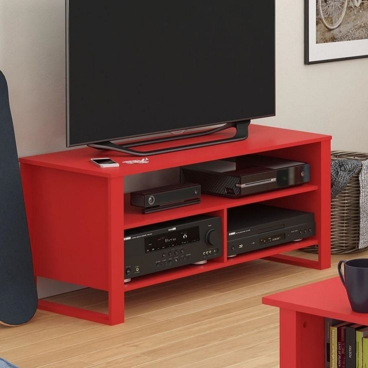 Great Brand New Red TV Stands With Best 25 Red Tv Stand Ideas On Pinterest Red Wood Stain (Image 20 of 50)