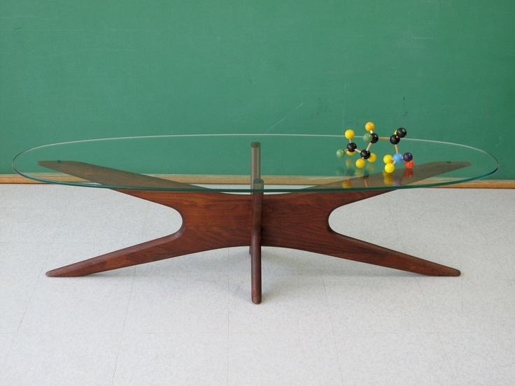 Great Brand New Retro Glass Top Coffee Tables For 42 Best Side Tables Images On Pinterest Side Tables Accent (Image 15 of 40)