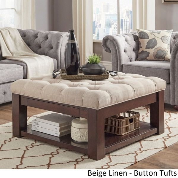Great Brand New Square Storage Coffee Table With Regard To Best 25 Storage Ottoman Coffee Table Ideas On Pinterest (Image 24 of 50)