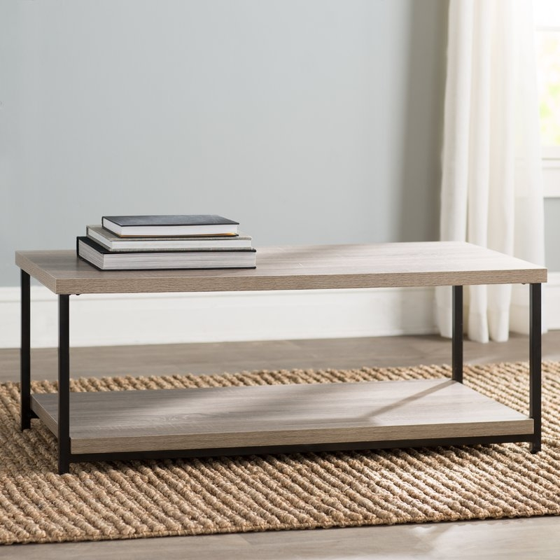Great Brand New Wayfair Coffee Tables Intended For Mercury Row Comet Coffee Table Reviews Wayfair (Image 23 of 40)