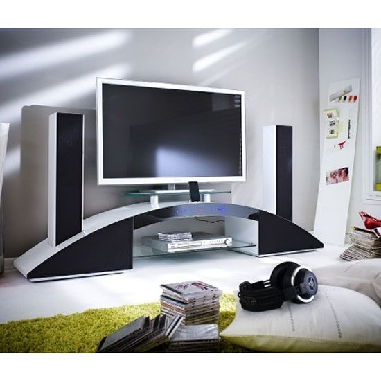 Great Brand New White Gloss Oval TV Stands Regarding 14 Best Tv Stand Images On Pinterest Tv Units High Gloss And (View 8 of 50)