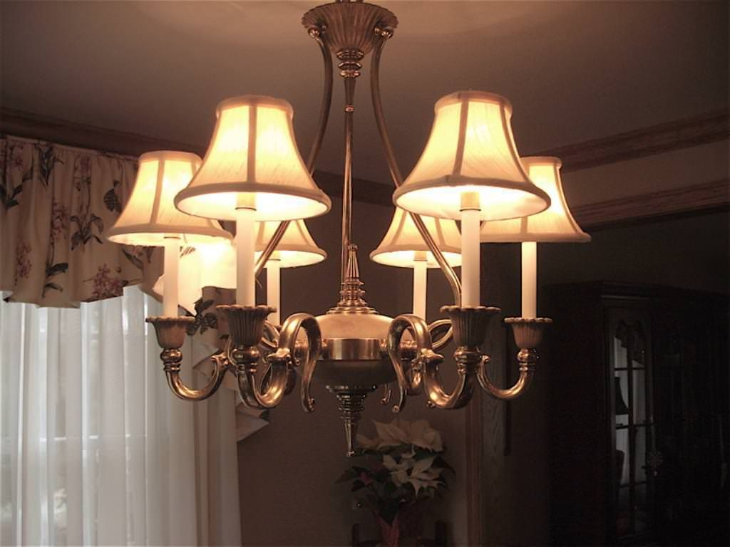 Great Chandelier Lamp Shades Pertaining To Chandelier Lampshades (Image 15 of 25)