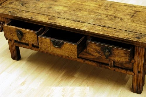 Great Common Chinese Coffee Tables Intended For A1s0328 Antique Chinese Coffee Table Storage Bench (View 32 of 50)