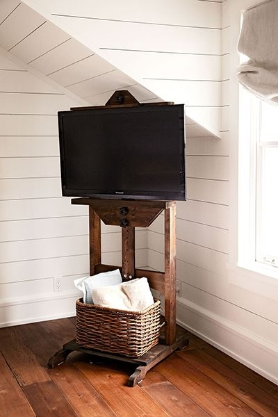 Great Common Easel TV Stands For Flat Screens Throughout 8 Best What To Do With Tv Images On Pinterest Easels Flat (View 29 of 50)