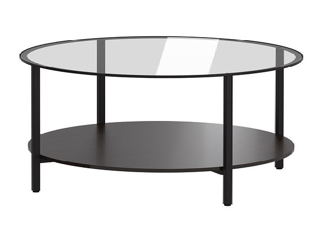 Great Common Glass Circle Coffee Tables Throughout Round Coffee Table Ikea Idi Design (Image 19 of 50)