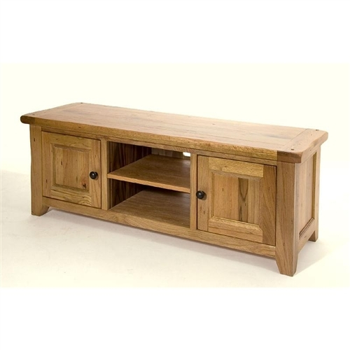 Great Common Hardwood TV Stands Pertaining To Bordeaux Oak Tv Stand Solid Oak Tv Stands From Abode Direct (View 13 of 50)