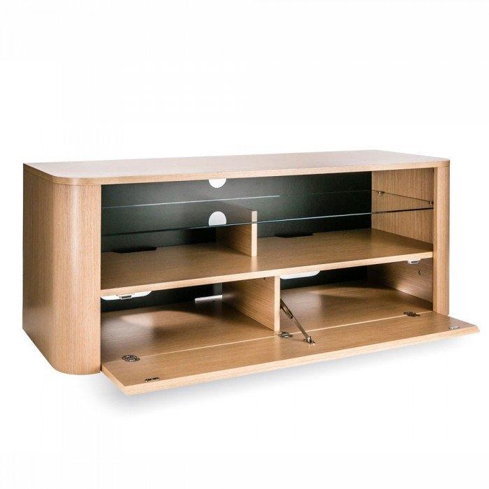 Great Common Light Oak TV Cabinets Inside Alphason Hugo Adh1260 Light Oak Soundbar Ready Tv Cabinet (Image 22 of 50)