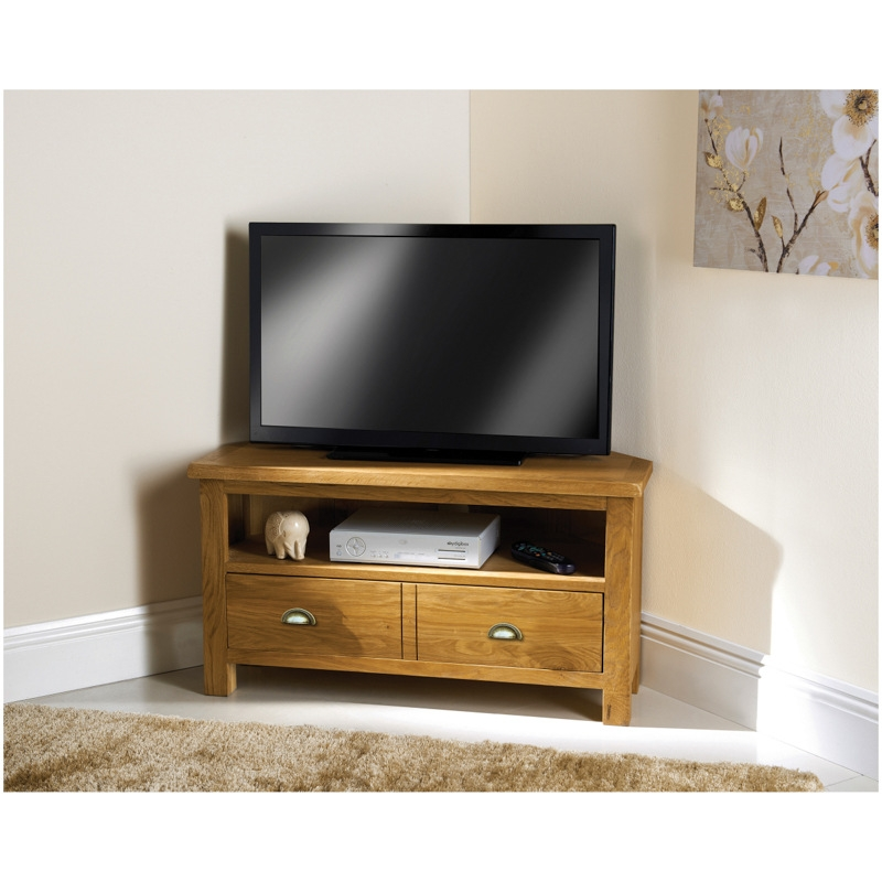 Great Common Oak Effect Corner TV Stands Pertaining To Cheap Tv Stands And Tv Units From Bm (Image 19 of 50)