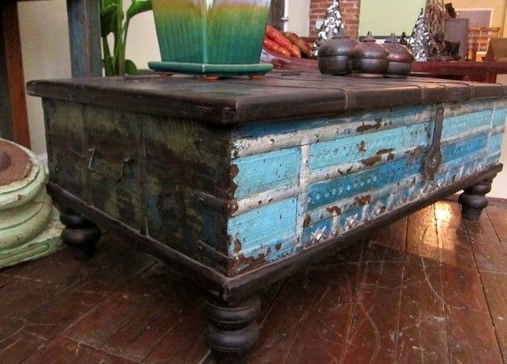 Great Common Old Trunks As Coffee Tables Intended For Best 25 Trunk Table Ideas On Pinterest Vintage Suitcase Table (Image 21 of 50)