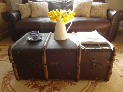 Great Common Old Trunks As Coffee Tables Within Old Trunk Coffee Table (Image 22 of 50)