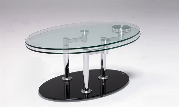 Great Common Revolving Glass Coffee Tables Regarding Simple But Important Things To Remember About Rotating Coffee (Image 15 of 40)