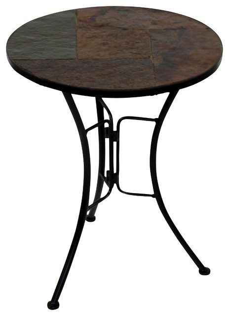 Great Common Round Slate Top Coffee Tables Throughout Black Coffee Table With Slate Top Coffee Addicts (Image 17 of 40)