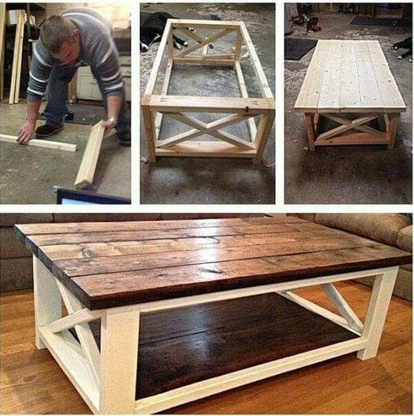 Great Common Rustic Wood DIY Coffee Tables With Best 25 Homemade Coffee Tables Ideas On Pinterest Diy Table (Image 20 of 50)