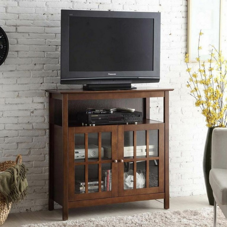 Great Common Small Oak Corner TV Stands With Small Corner Tv Cabinet Furniture Best Modern Tv Wall Unit (View 32 of 50)