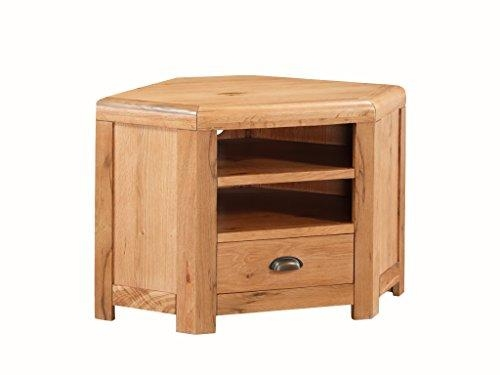 Great Common Solid Oak Corner TV Cabinets For Oakville Solid Oak Corner Tv Unit Solid Oak Plasma Corner Tv (View 35 of 50)