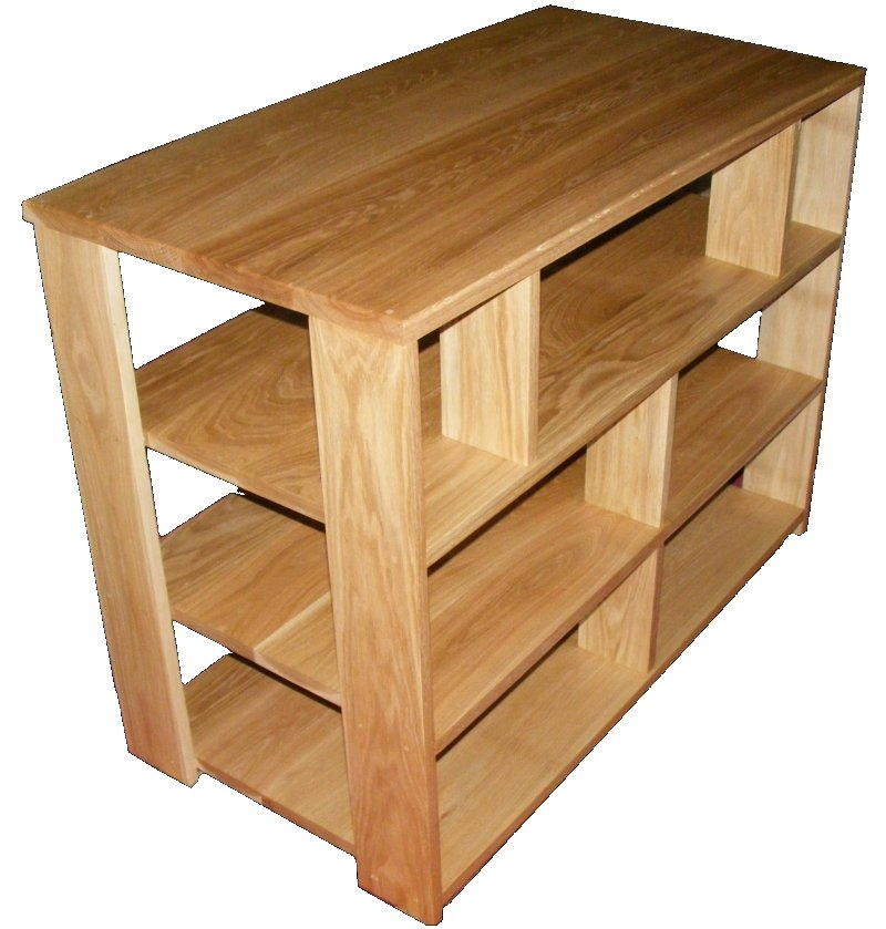 Great Common Solid Oak TV Stands Regarding Handmade Solid Oak Tv Stand (Image 21 of 50)