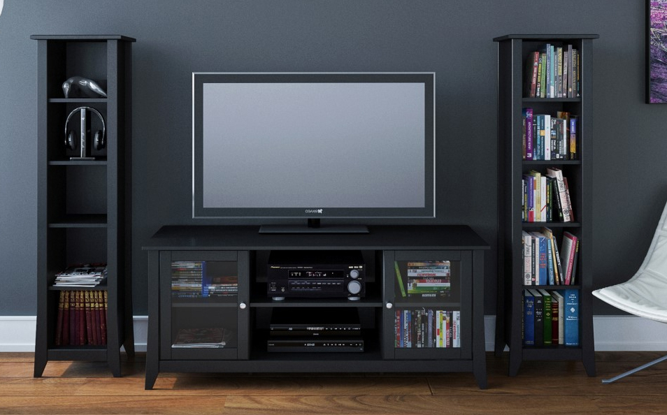 Great Common TV Stands With Bookcases Inside Eco Friendly Media Furniture And Tv Stands Sustainable Furniture (Image 23 of 50)