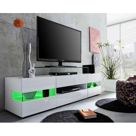 Great Common TV Stands With LED Lights For Sonic Tv Stand With Optional Led Lights Tv Stands Sena Home (Image 22 of 50)