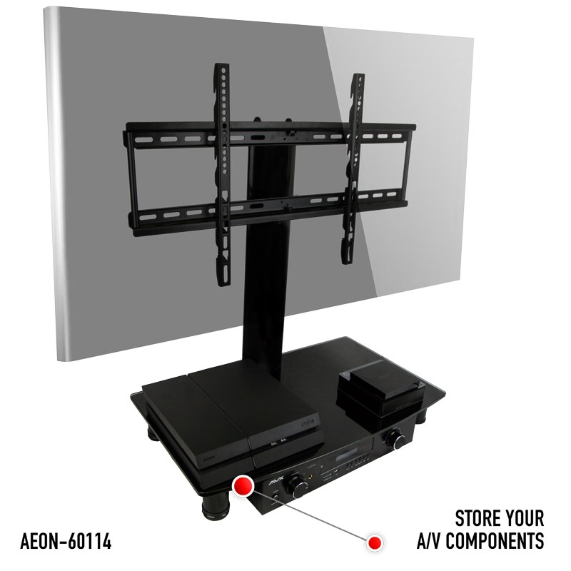 Great Common Vizio 24 Inch TV Stands Throughout Universal Tabletop Tv Stand Swivel Height Adjustment Av (Image 19 of 50)