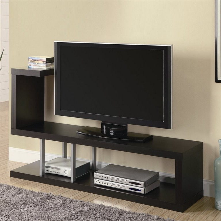 Great Common White TV Stands For Flat Screens For Tall Thin Tv Stand (Image 25 of 50)