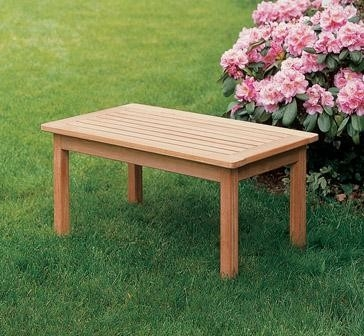 Great Common Wooden Garden Coffee Tables Within Garden Coffee Table Barco Products (View 38 of 50)