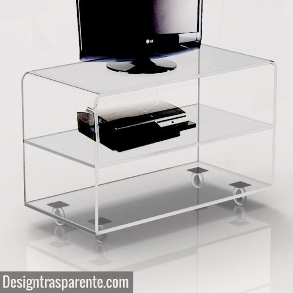 Great Deluxe Acrylic TV Stands Regarding Acrylic Tv Table Acrylic Tv Table Suppliers And Manufacturers At (Image 24 of 50)