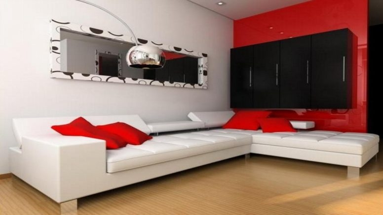 Great Deluxe Black And Red TV Stands For Red And Black Living Room Decorating Ideas Enchanting Decors Tv (View 41 of 50)