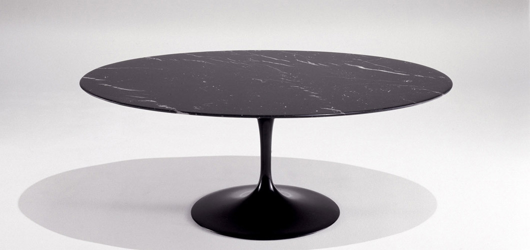 Great Deluxe Black Oval Coffee Tables With Regard To Coffee Table Amusing Saarinen Coffee Table Design Saarinen Coffee (View 33 of 40)