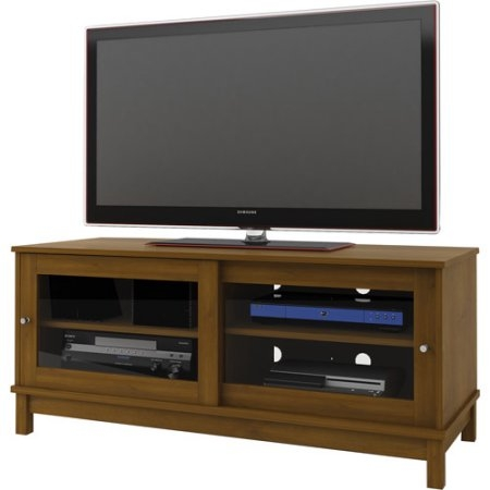 Great Deluxe Black TV Cabinets With Doors Within Tv Stands Entertainment Centers Walmart (Image 28 of 50)