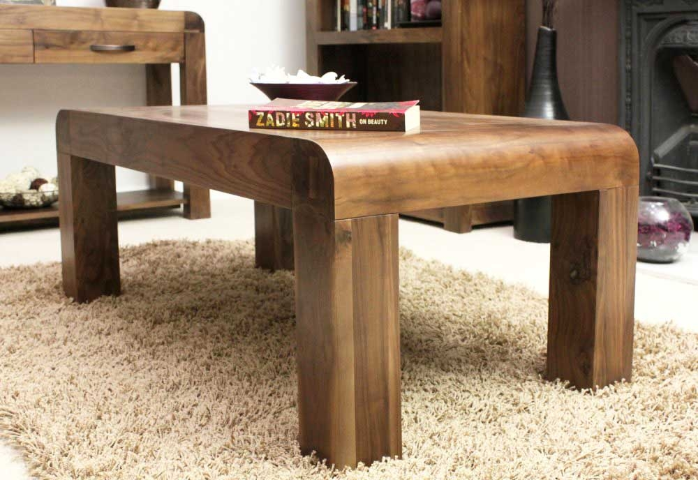 Great Deluxe Chunky Wood Coffee Tables In Real Wood Coffee Table (Image 19 of 50)