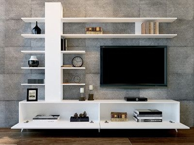 Great Deluxe Large TV Cabinets Pertaining To Quality Large Tv Cabinet This Luxury White Tv Stand Ample (View 5 of 50)