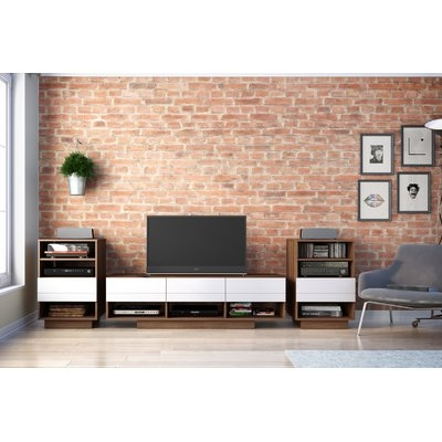 Great Deluxe Maple TV Stands Pertaining To Maple Tv Stands Youll Love Wayfairca (Image 23 of 50)