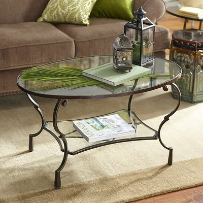 Great Deluxe Metal Oval Coffee Tables With Regard To 25 Best Oval Glass Coffee Table Ideas On Pinterest Glass Coffee (Image 14 of 50)