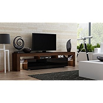 Great Deluxe Milano TV Stands For Amazon Tv Stand Milano 130 Modern Led Tv Cabinet Living (Image 20 of 50)