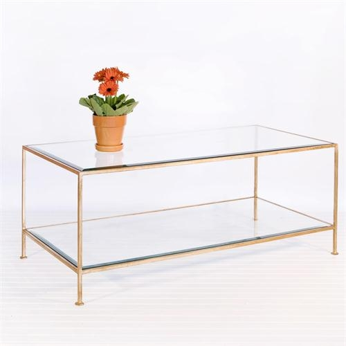 Great Deluxe Rectangle Glass Coffee Table In Coffee Table Astounding Rectangular Glass Coffee Table With Shelf (View 9 of 50)
