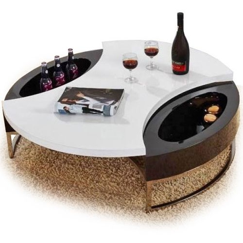 Great Deluxe Round Swivel Coffee Tables Regarding 171 Best Contemporary Coffee Tables Images On Pinterest (View 13 of 50)