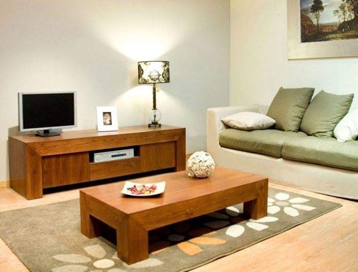 Great Deluxe Tv Stand Coffee Table Sets Within Tv Stand Coffee Table Set  Acompanyofone (Image