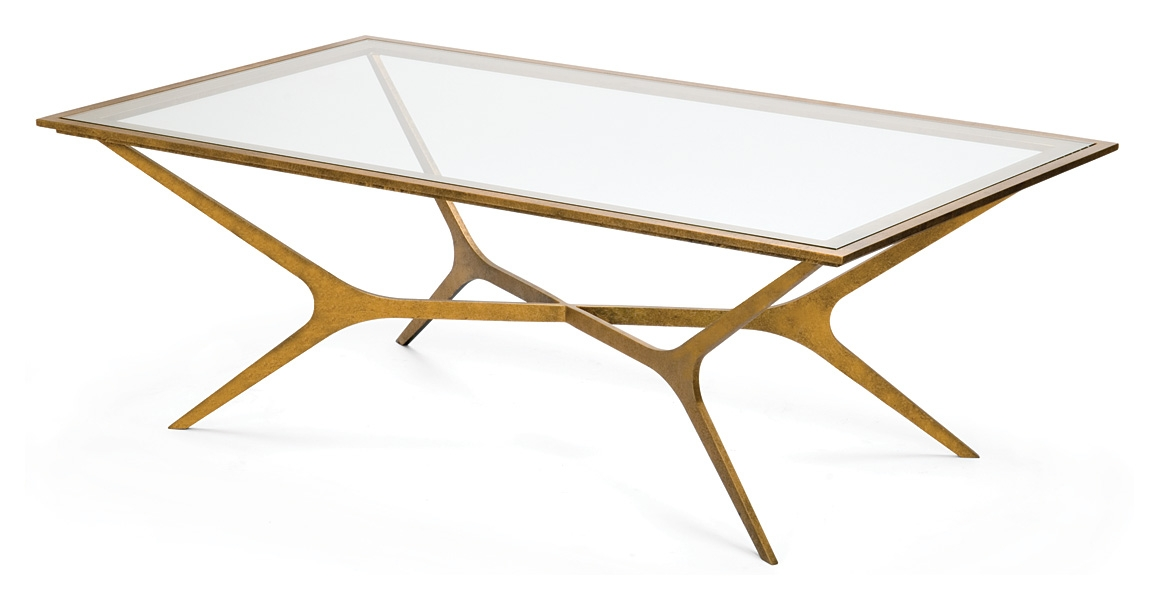 Great Deluxe Vintage Glass Coffee Tables For Stunning Glass And Gold Coffee Table Elegant Gold Glass Coffee (View 24 of 50)
