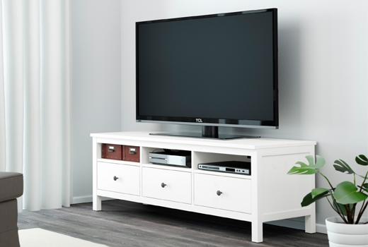 Great Deluxe White Gloss TV Cabinets With Regard To Tv Stands Entertainment Centers Ikea (Image 24 of 50)