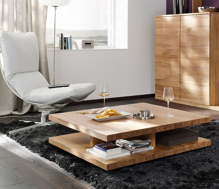 Great Deluxe Wood Modern Coffee Tables Throughout Best 25 Coffee Table With Storage Ideas Only On Pinterest (Image 20 of 50)