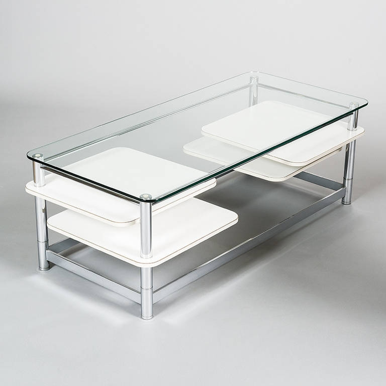 Great Elite Chrome Glass Coffee Tables For Coffee Table Home Decorating Trends Small Glass Coffee Table (Image 27 of 50)