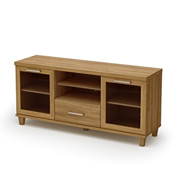 Great Elite Maple TV Stands With Regard To Amazon South Shore Adrian Collection Tv Stand Harvest Maple (Image 24 of 50)